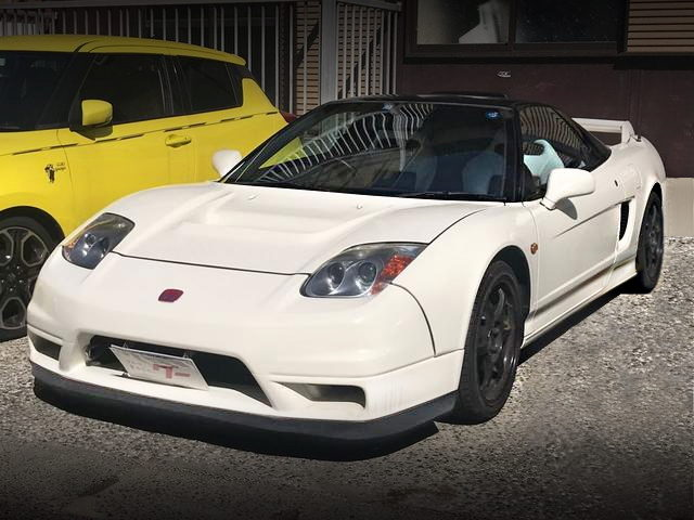 FRONT EXTERIOR OF NA1 NSX With 02R CUSTOM BODY