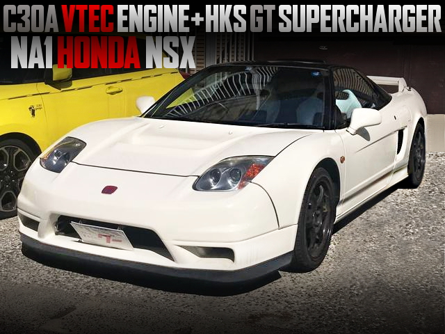 HKS SUPERCHARGED C30A VTEC With NA1 NSX OF 02R CUSTOM