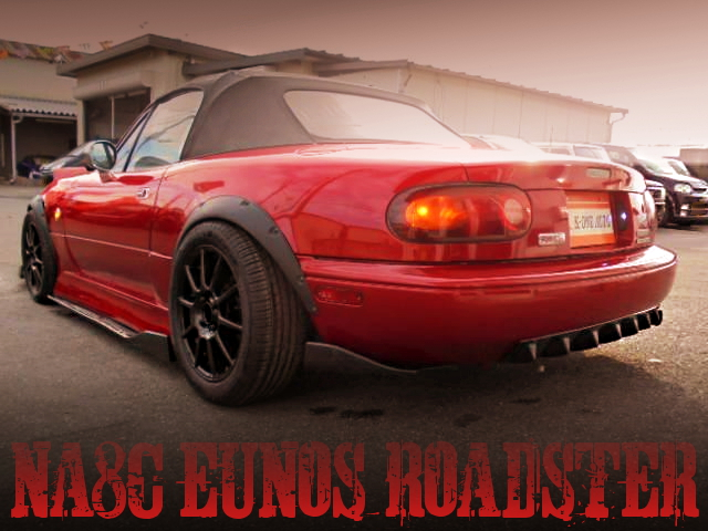 BAGGED NA8C EUNOS ROADSTER RED