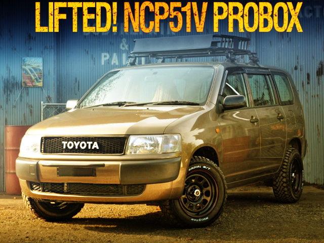 LIFTED TOYOTA NCP51V PROBOX