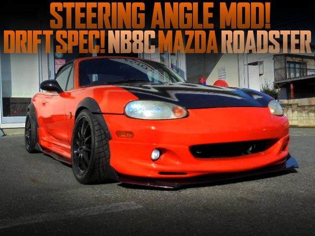 DRIFT ANGLE MOD TO NB8C ROADSTER WITH WIDEBODY