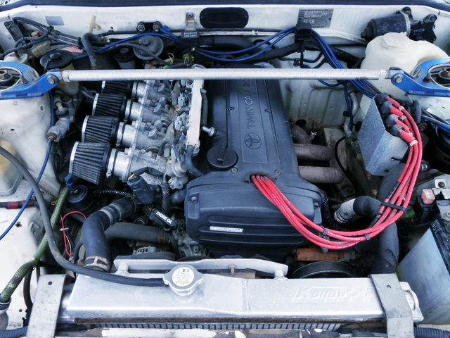 20V 4AG ENGINE FOR AE86 LEVIN AT ENGINE ROOM