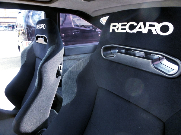 RECARO SEATS AT AE86 LEVIN INTERIOR