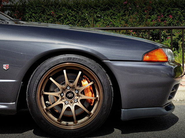 FRONT R34 GTR Brembo 4POT SWAPPED TO R32GT-R