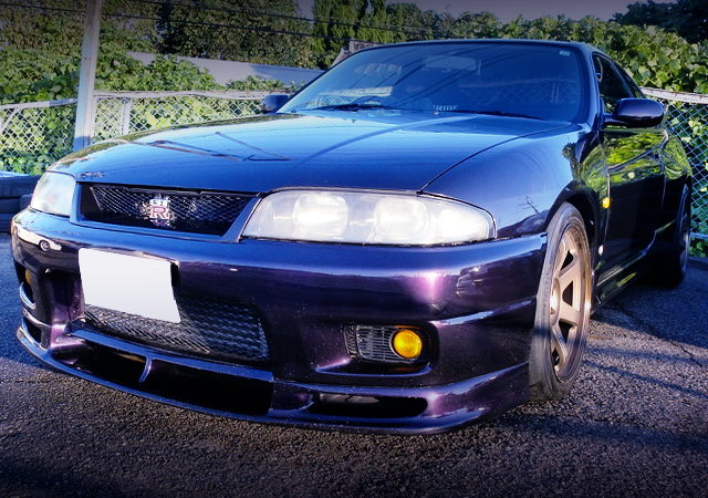 FRONT EXTERIOR OF R33 GT-R 500HP