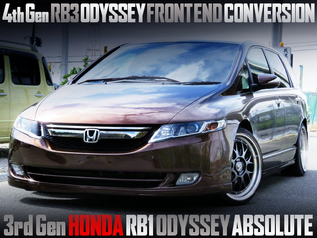 RB3 ODAYSSEY FRONT END OF RB1 ODYSSEY ABSOLUTE