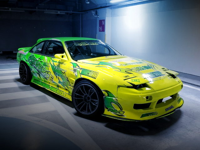 FRONT EXTERIOR S14 ONEVIA WITH YELLOW AND GREEN