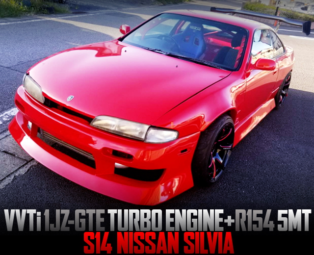 1JZ-GTE SWAPPED S14 SILVIA