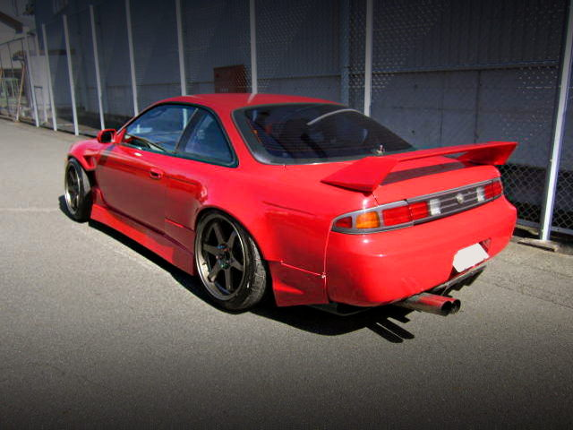 REAR EXTERIOR OF S14 SILVIA Ks AERO SE