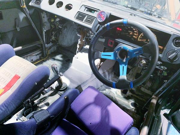 INTERIOR AE86 DASHBOARD