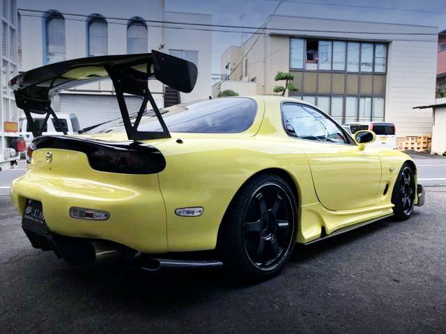 REAR EXTERIOR FD3S RX7 TYPE-RS