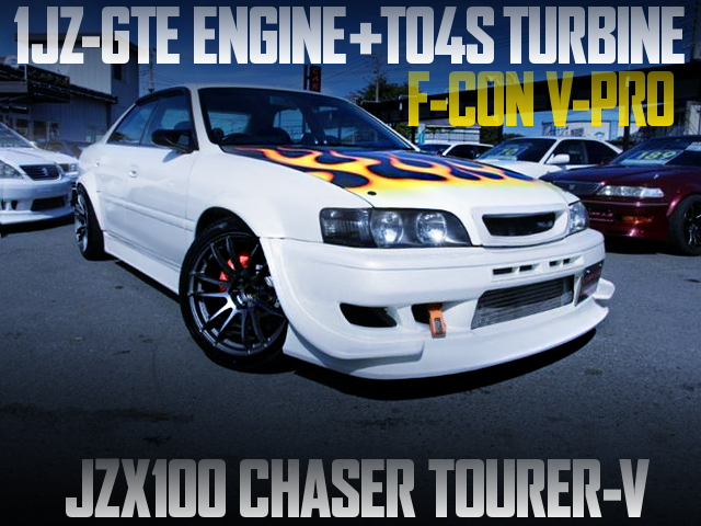 1JZ WITH TO4S TURBO AND HKS V-PRO TO A JZX100 CHASER TOURER-V