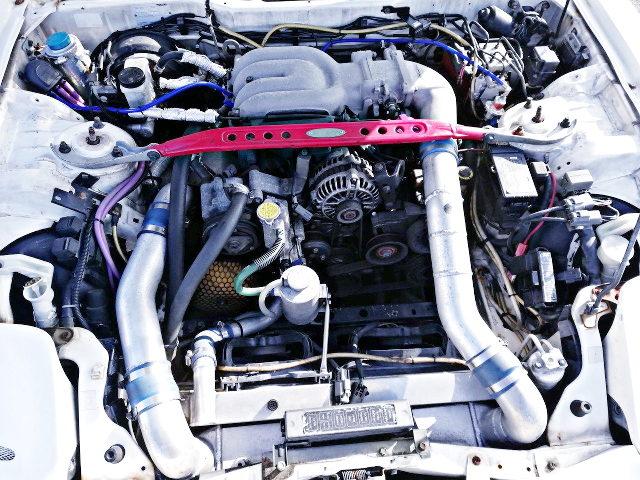 13B REW SINGLE TURBO ENGINE
