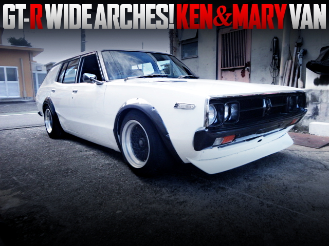 GT-R WIDE ARCHES CUSTOM TO VBC110 KENMARY VAN