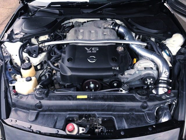 HKS GTS7040 SUPERCHARGED VQ35DE V6 ENGINE