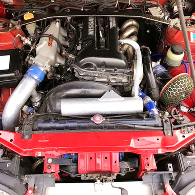 SR20DET With TRUST SURGE and GT-RS TURBO