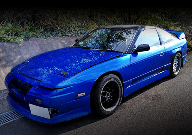 FRONT EXTERIOR OF 180SX