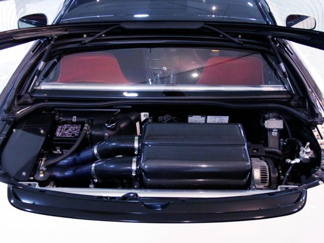 C32B VTEC ENGINE AND CARBON AIR INTAKE BOX
