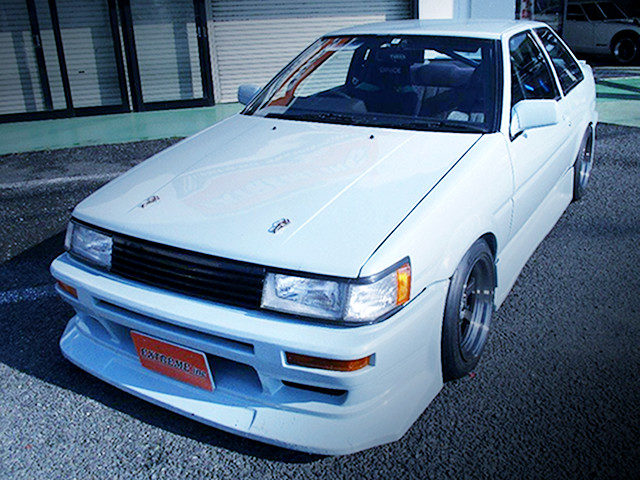 FRONT FACE AE86 LEVIN