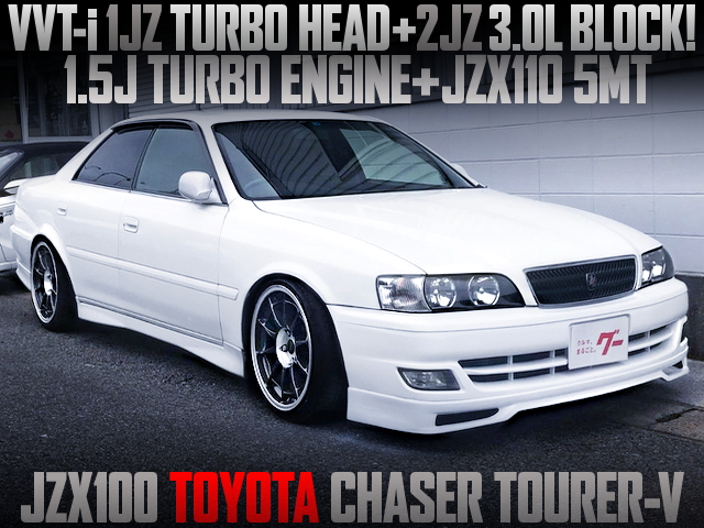 1JZ HAED WITH 2JZ BLOCK INTO A JZX100 CHASER TOURER-V
