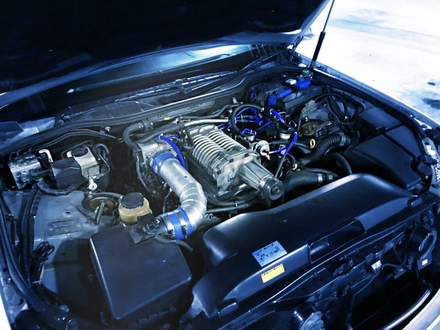 3UZ V8 SUPERCHARGER ENGINE