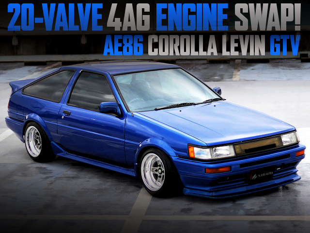 20V 4AG SWAPPED AE86 LEVIN With BLUE
