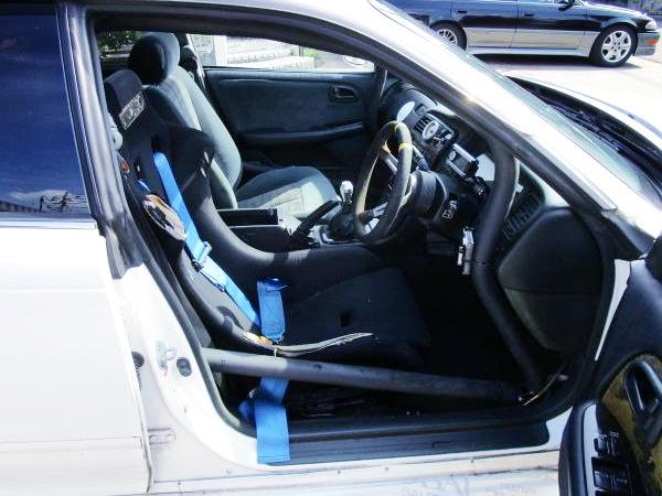 INTERIOR OF DRIFT CAR X90 MARK2