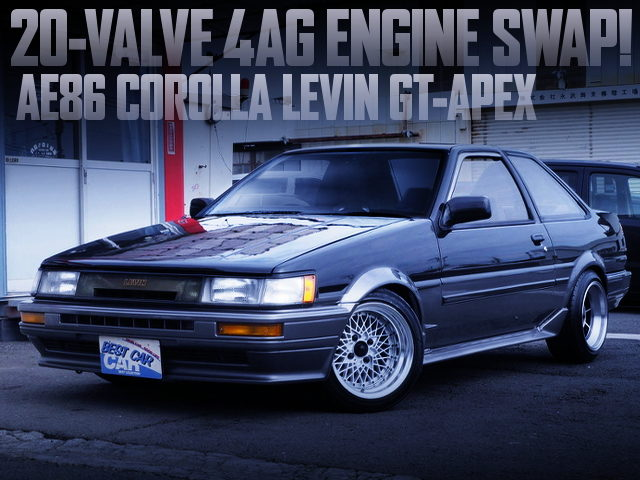 20V 4AG SWAPPED AE86 LEVIN GT-APEX