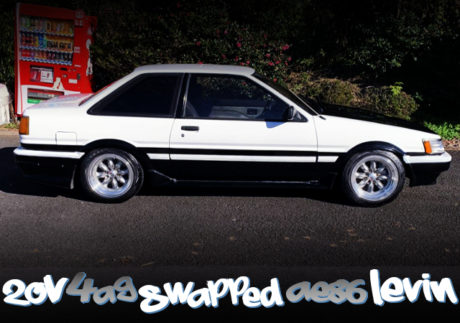 20V 4AG SWAPPED AE86 LEVIN TO PANDA COLOR