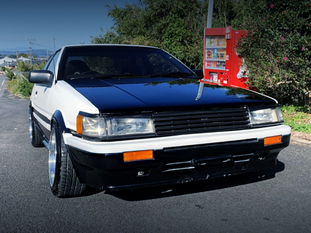 FRONT EXTERIOR AE86 LEVIN TO PANDA