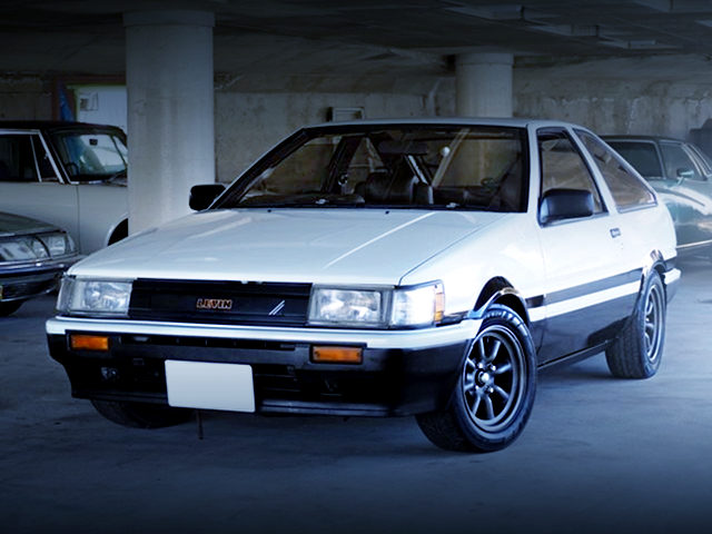 FRONT EXTERIOR AE86 COROLLA LEVIN PANDA TWO TONE