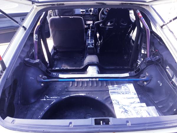INTERIOR REAR FOR AE86 TRUENO HATCH
