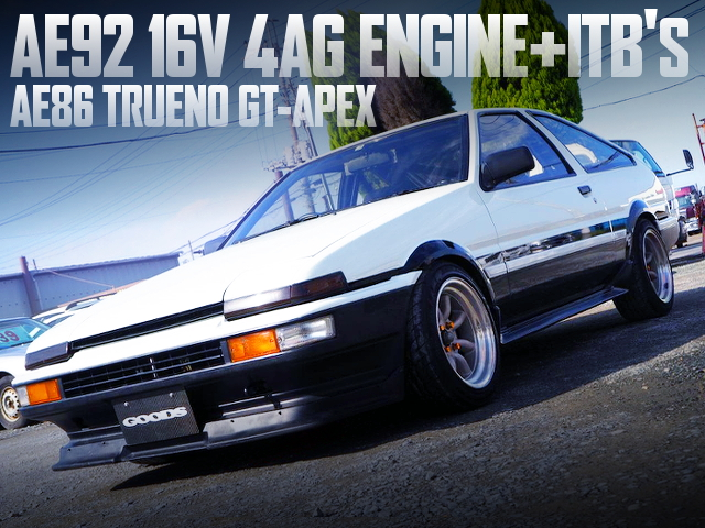 AE92 16V 4AG With ITBs INTO A AE86 TRUENO GT-APEX TO PANDA COLOR