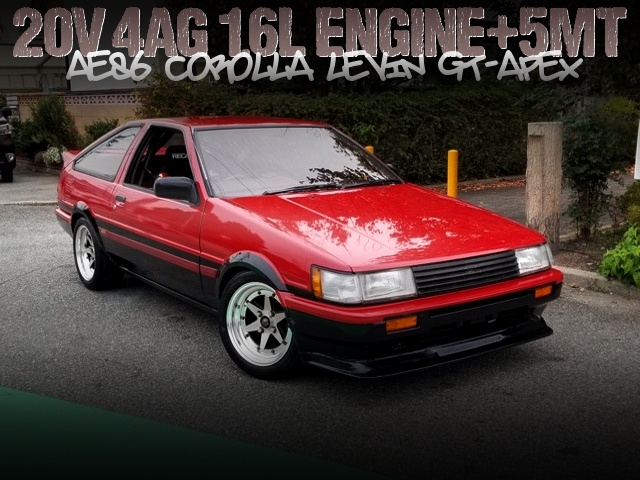 20V 4AGE SWAPPED AE86 LEVIN GT-APEX