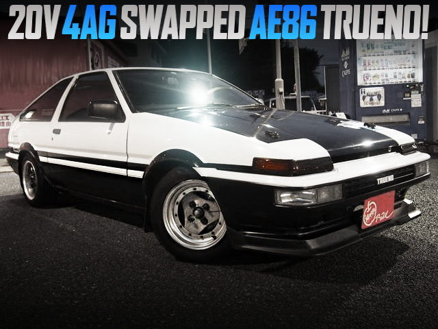 20V 4AG SWAPPED AE86 TRUENO GT-APEX TO PANDA COLOR