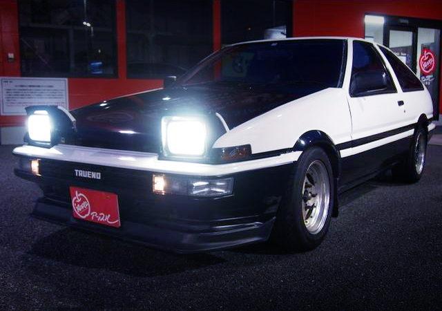 HEAD LIGHT OPEN TO AE86 TRUENO GT APEX