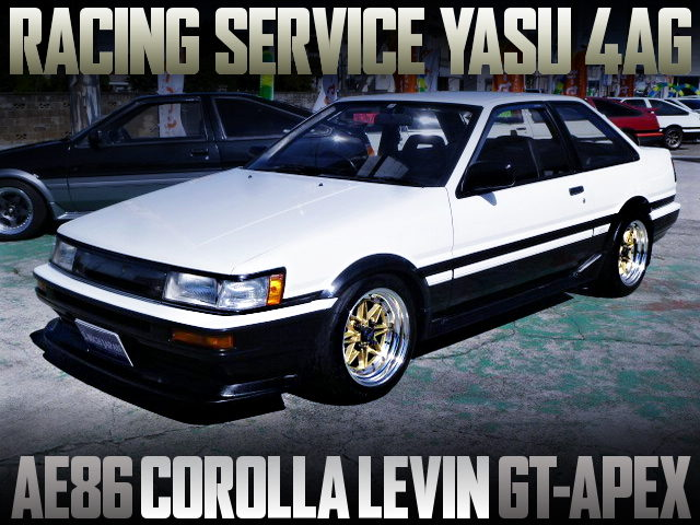 RS-YASU 4AG INSTALLED AE86 COROLLA LEVIN GT-APEX