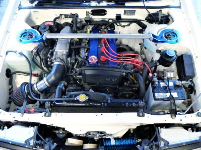 RS-YASU 16-VALVE 4AG ENGINE