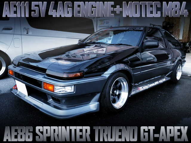 AE111 5V 4AG AND MOTEC M84 TO AE86 TRUENO GT-APEX