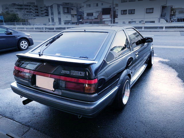 REAR EXTERIOR AE86 TRUENO GT-APEX HATCH