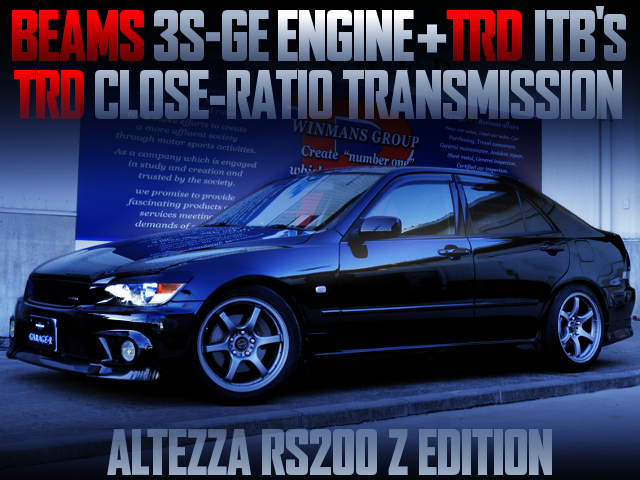 3S-GE WITH TRD ITBs INTO ALTEZZA RS200 Z-EDITION