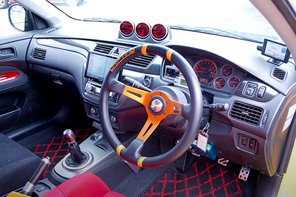 INTERIOR DASHBOARD TO EVO9 GT