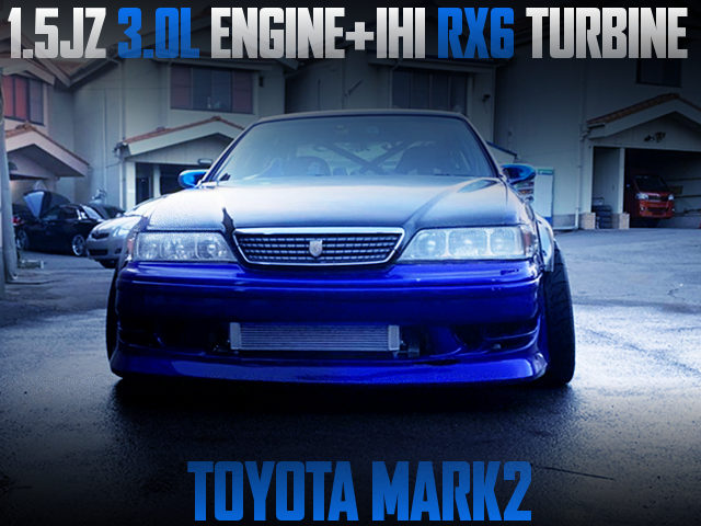 15JZ With IHI RX6 TURBO INTO JZX100 MARK2 FROM D1GP CAR