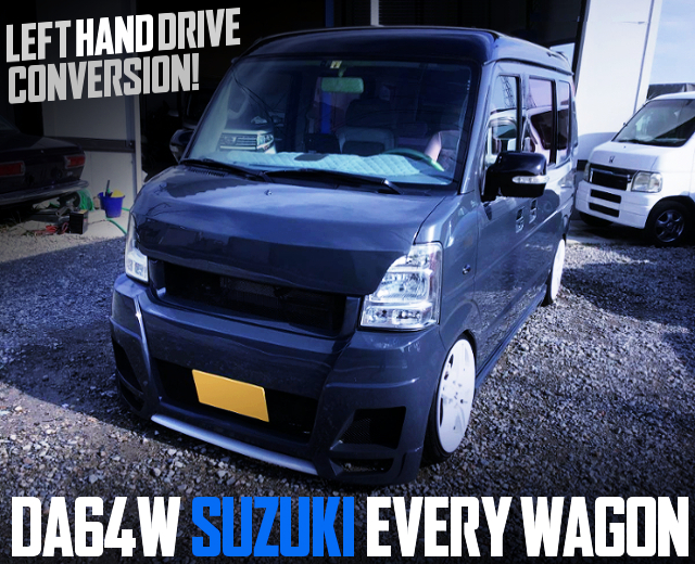 LEFT HAND DRIVE CONVERSION TO DA64W SUZUKI EVERY WAGON