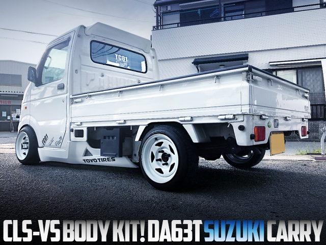 CLS BODY KIT INSTALLED DA63T SUZUKI CARRY