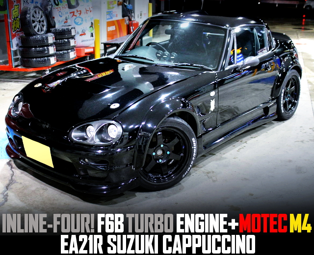 F6B TURBO ENGINE SWAPPED EA21R SUZUKI CAPPUCCINO