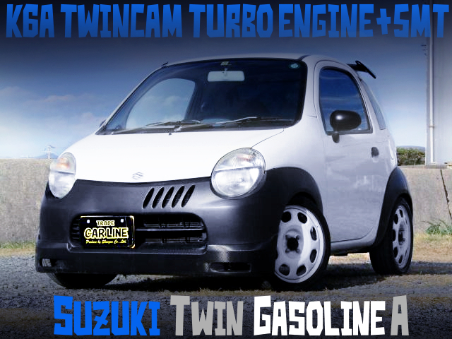 K6A TWINCAM TURBO ENGINE AND 5MT INTO A EC22S SUZUKI TWIN GASOLINE A