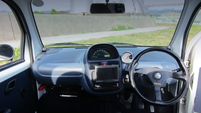 INTERIOR DASHBOARD OF EC22S SUZUKI TWIN