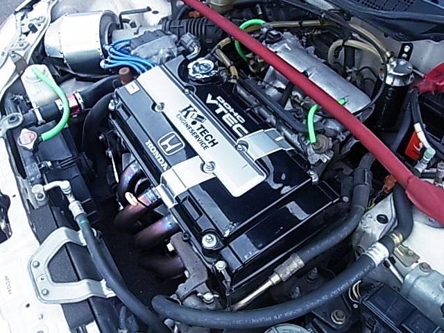 K-TECH B16B VTEC COMPLETE ENGINE