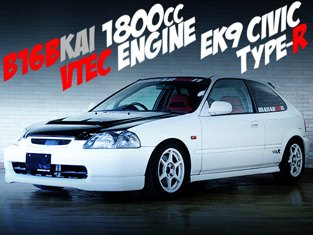 B16B KAI 1800cc VTEC ENGINE INTO A EK9 CIVIC TYPE-R